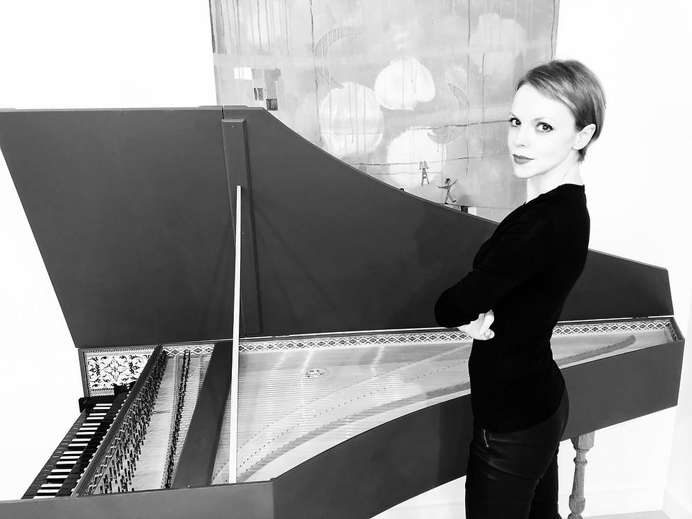 Magdalena Baczewska Launches Bach@Home Recording Series