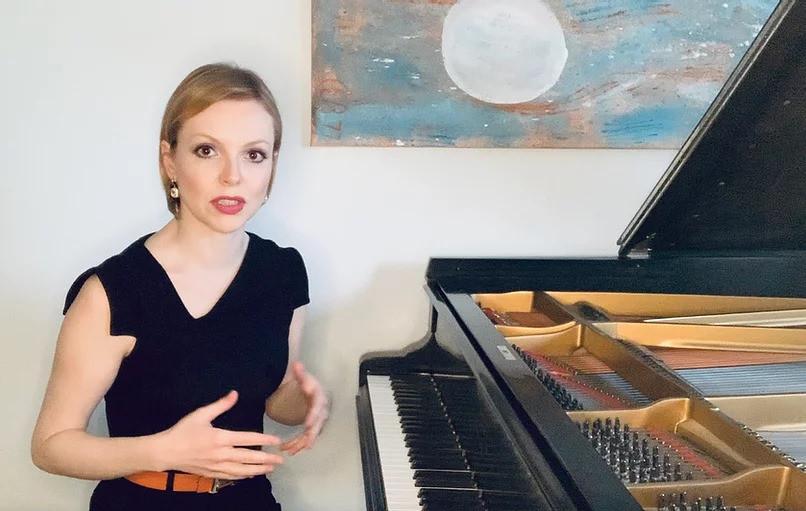 """Magdalena Baczewska's """"Enjoyment of Music"""" lecture series at  Chopin Society of Atlanta"""