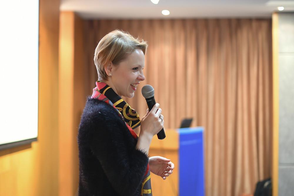 Magdalena Baczewska, Columbia Global Center, Beijing China