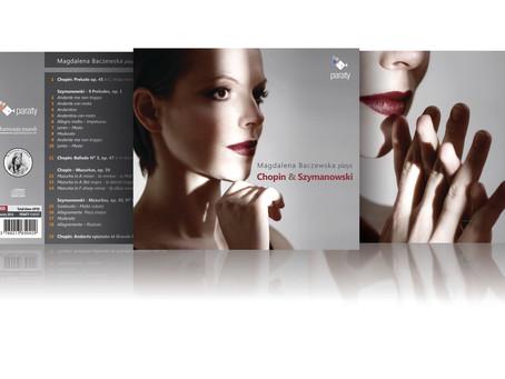 TODAY! New Album Release: Magdalena Baczewska plays Chopin and Szymanowski