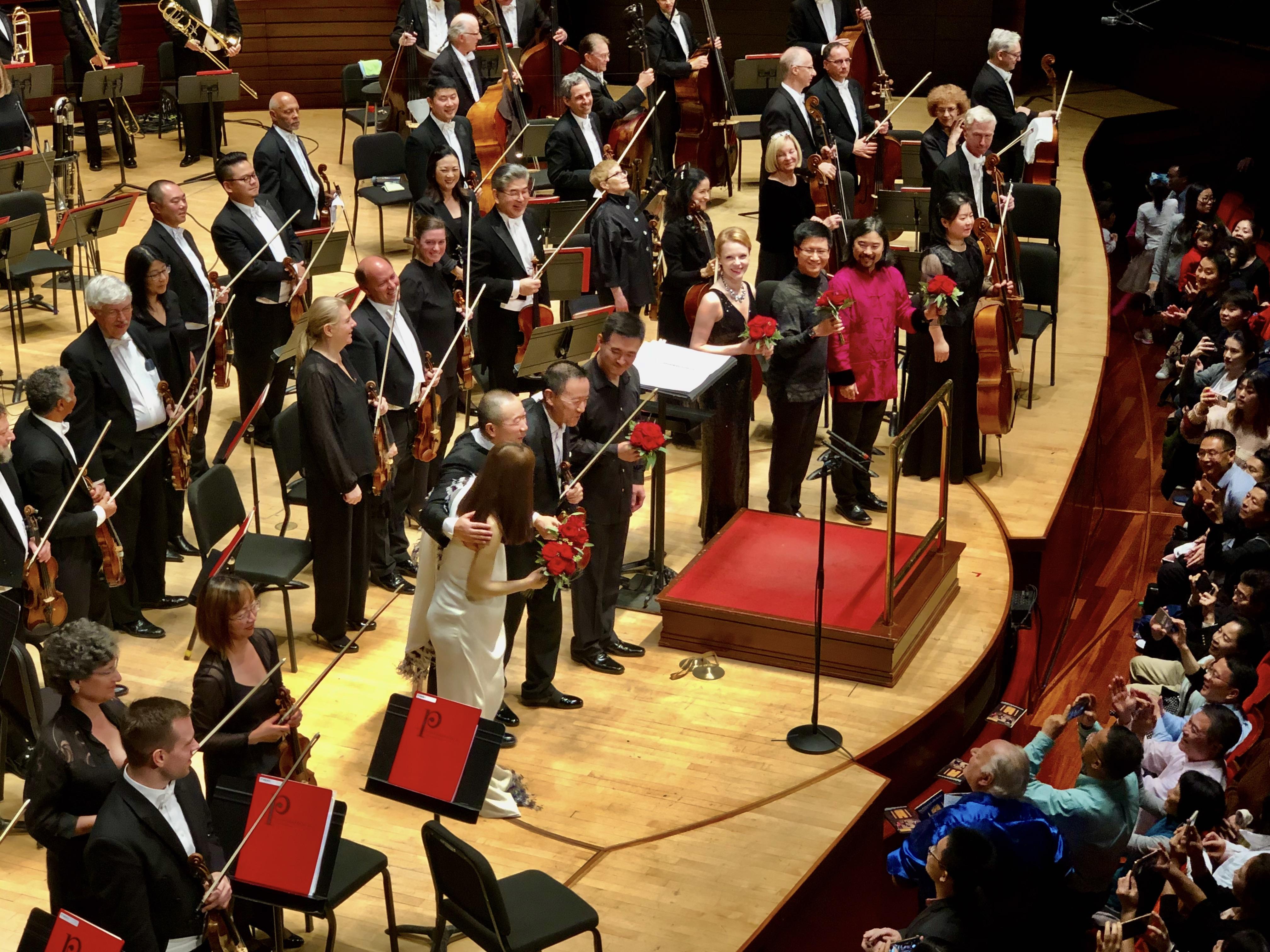 Magdalena Baczewska, Tan Dun, Philadelph