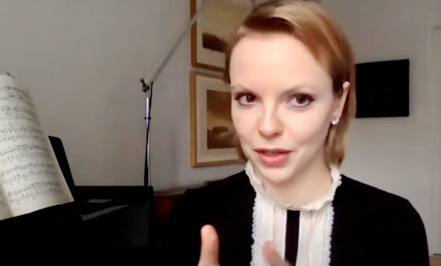 Magdalena Baczewska pre-concert talk