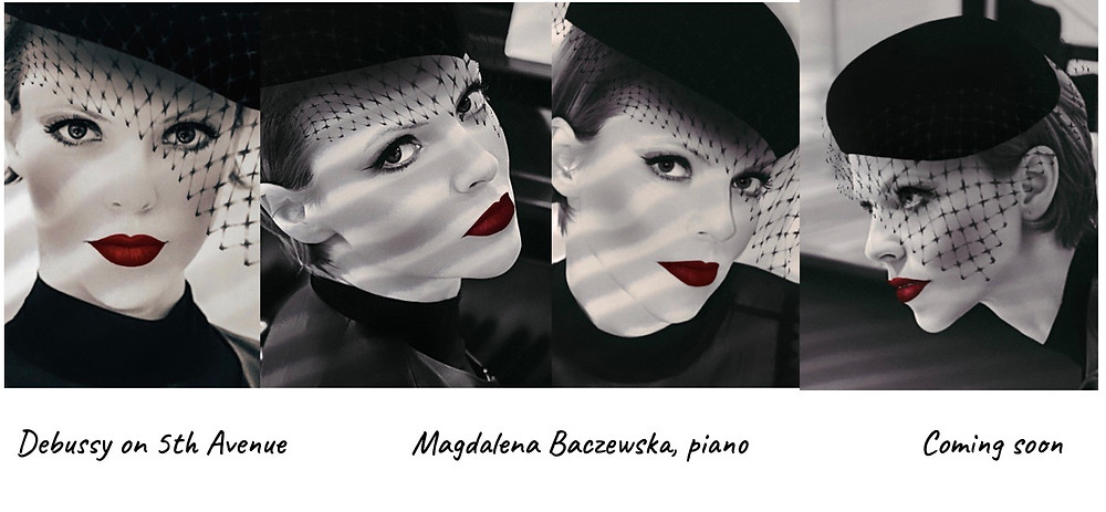 """Magdalena's new album """"Debussy on 5th Avenue"""" is coming soon! Stay tuned for more details."""