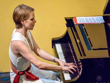 Magdalena Baczewska gives a Lecture Recital on the Music of Tadeusz Kosciuszko, at the Fraunces Tave