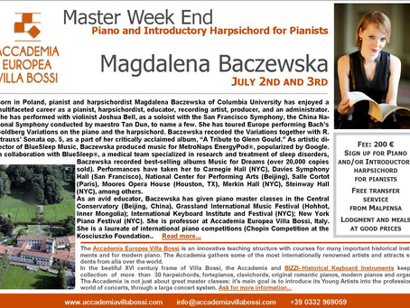 Master Classes in Italy