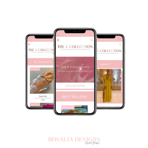 Instagram Layout (Mobile Website)kcollec