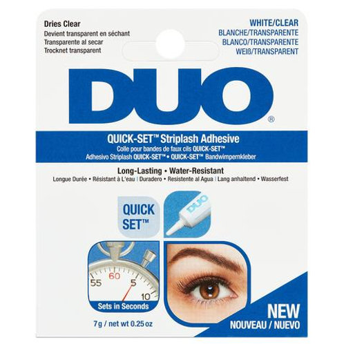 DUO Quick Set Strip Lash Adhesive Clear Tone (7g)