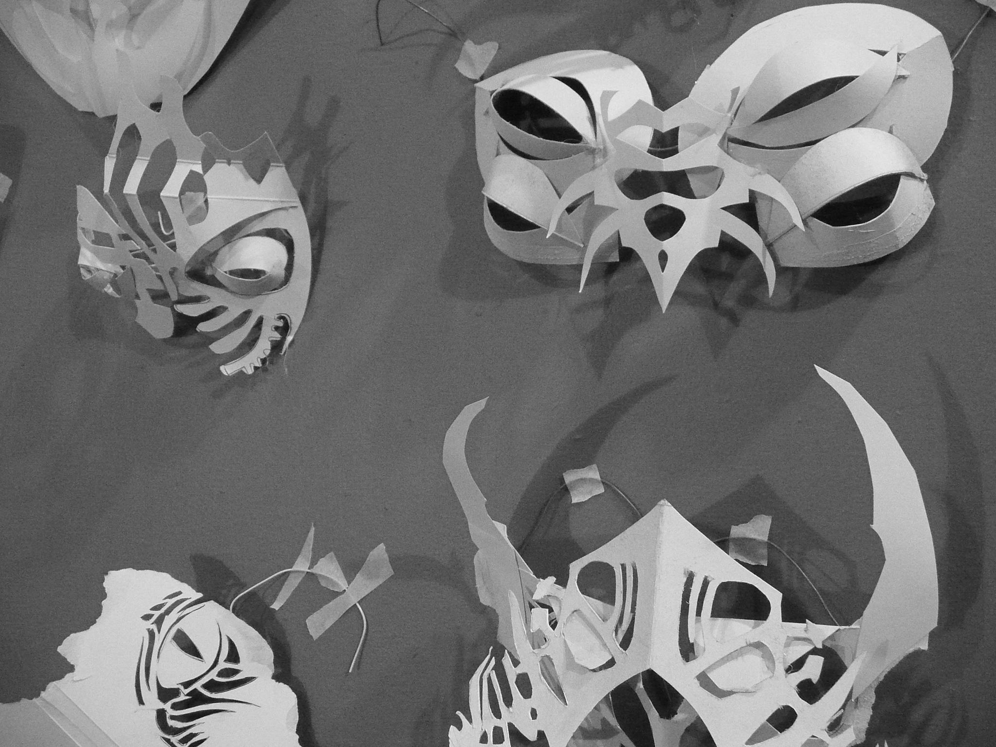 wall masks - Liz Kosack