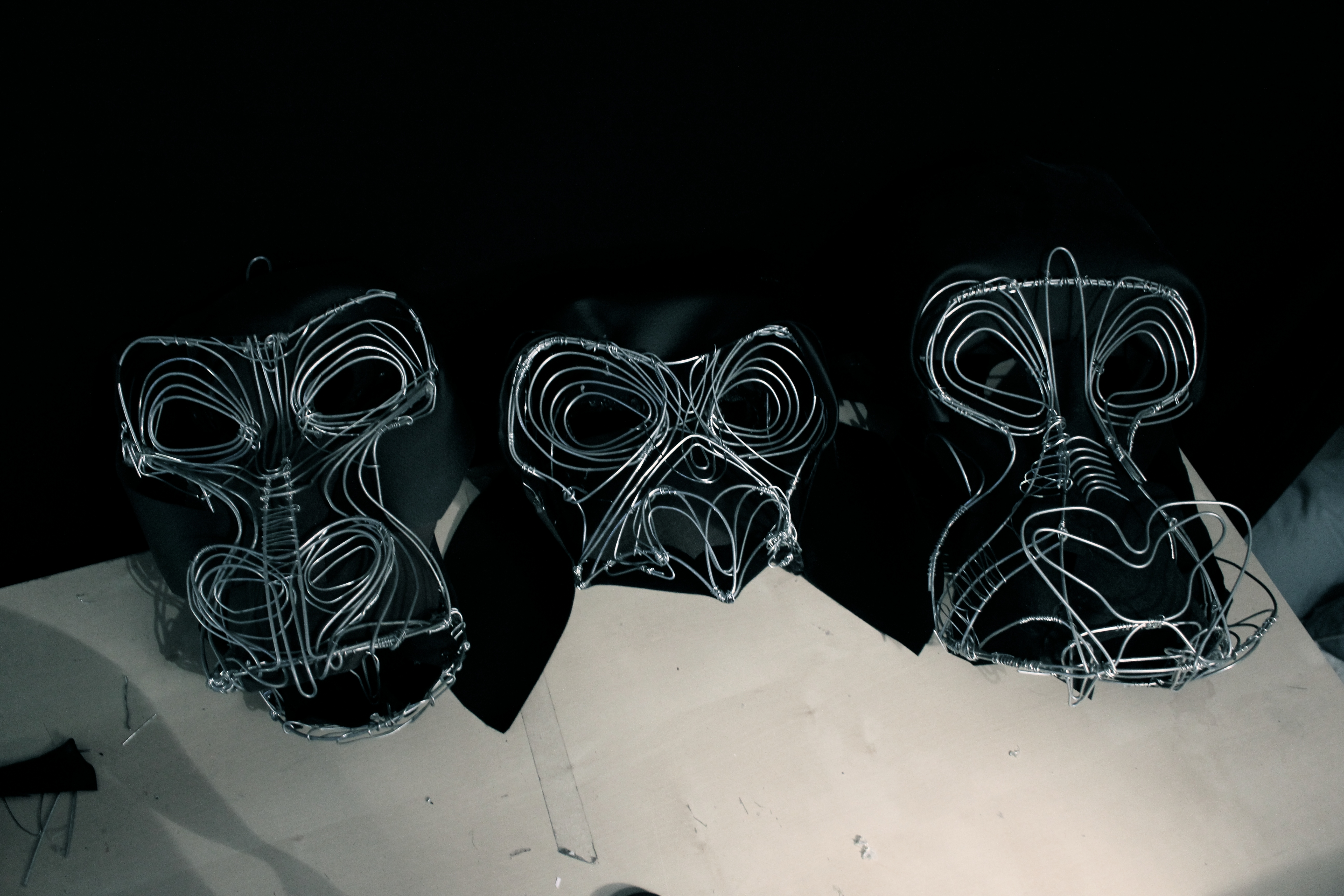 Gorilla Masks - Liz Kosack