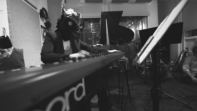 Kale Elk in studio - Liz Kosack