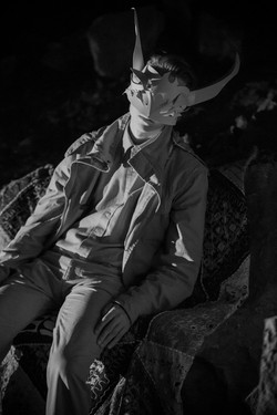 mask for film - Liz Kosack
