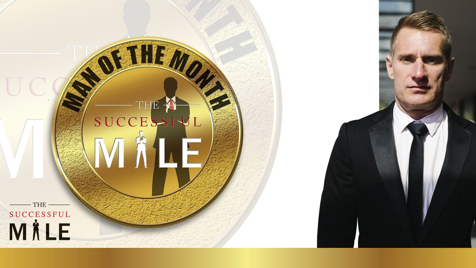 The Successful Male Announces August Man Of The Month - Daniel Burgess: Ordinary Men Doing The Extra