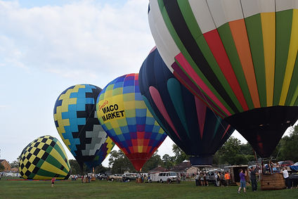 Ravenna Balloon A-Fair Balloon Launch