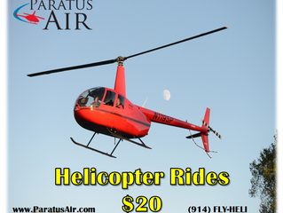 Back by Popular Demand: Helicopter Rides!