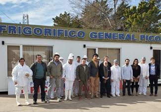 VISITA DEL CANCILLER AL FRIGORÍFICO GENERAL PICO