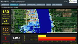 E-Nundation, outil de gestion des inondations pour les municipalités