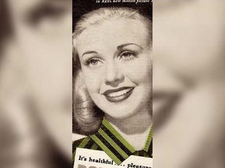 Vintage eyelash extensions.80 years ago, American tastes.
