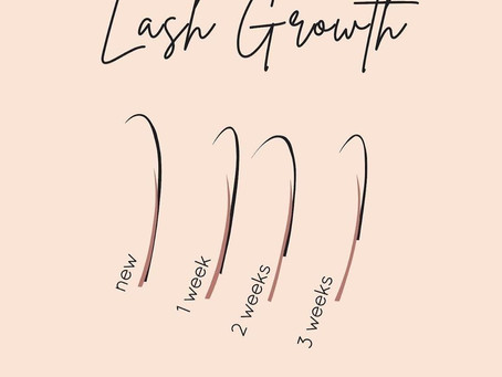 This is one of the reason you need lash fill on a regular basis