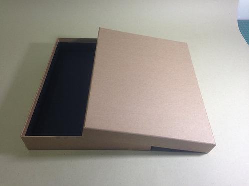 Z310-A4素牛皮加大上下蓋盒