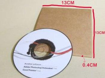 Z130-素牛皮CD盒