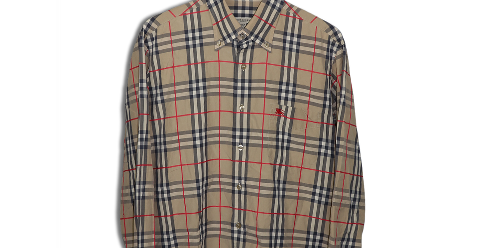 EARLY 2000s BURBERRY NOVA CHECK SHIRT | L