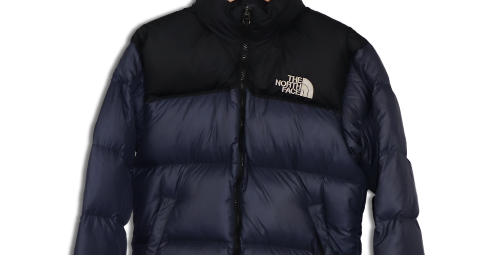 LATE 1990s THE NORTH FACE TWO TONE PUFFER JACKET | XS