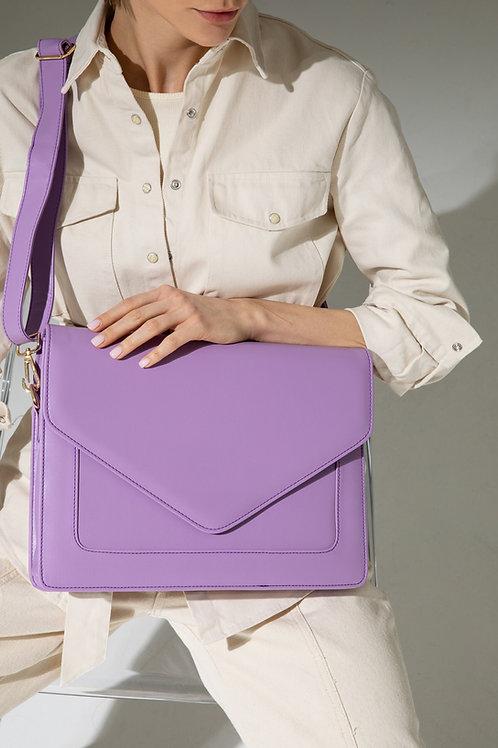 Looqatme Bag Lila-Laptop ve Evrak Çantası