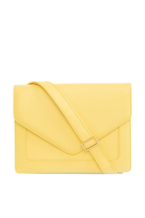 Looqatme Bag Sarı -Laptop ve Evrak Çantası
