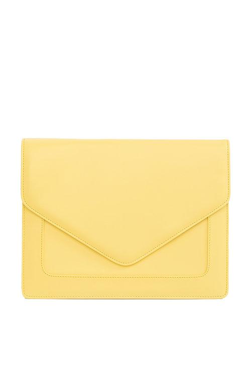 Looqatme Bag Sarı - Laptop ve Evrak Çantası-15.6inç