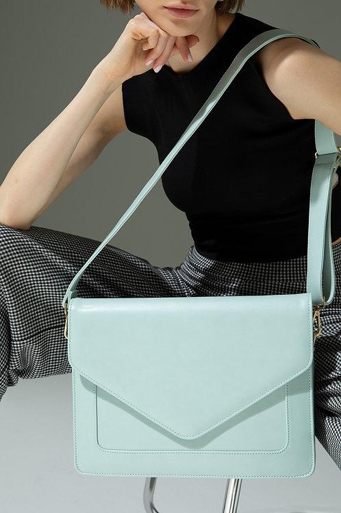 Looqatme Bag Yeşil-Laptop ve Evrak Çantası