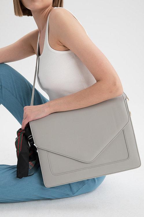 Looqatme Bag Gri - Laptop ve Evrak Çantası