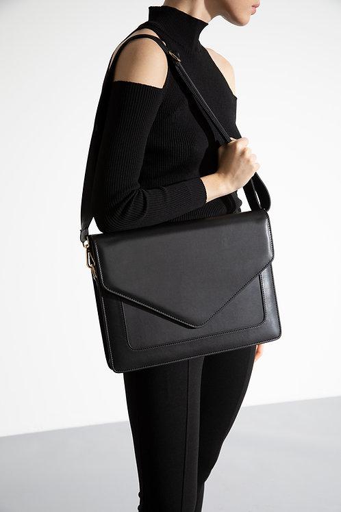 Looqatme Bag Siyah- Laptop ve Evrak Çantası