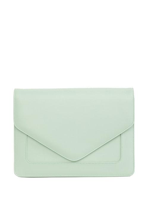 Looqatme Bag Yeşil - Laptop ve Evrak Çantası-15.6inç