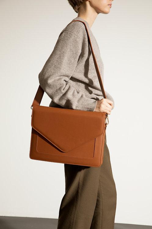 Looqatme Bag Taba- Laptop ve Evrak Çantası