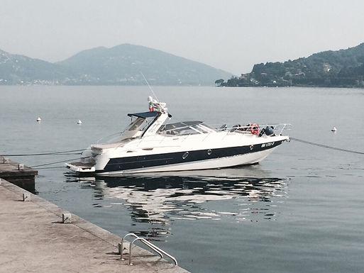 gita in barca sul lago maggiore