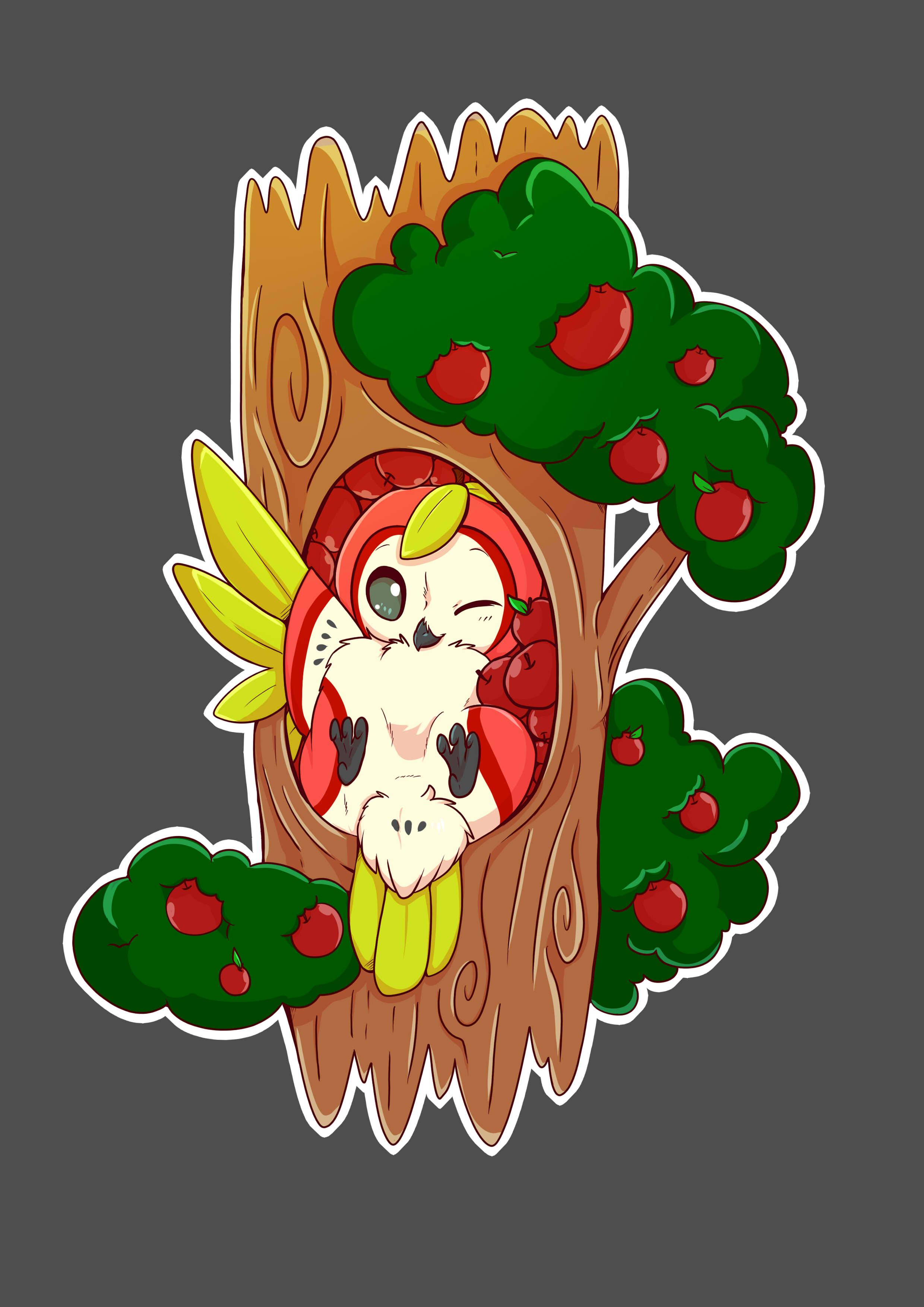 Owlpple tshirt design