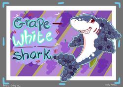 Grape White Shark