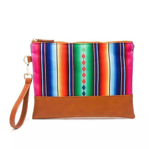 The Aztec Clutch Bag, Multi