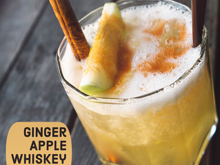Ginger Apple Whiskey Sour