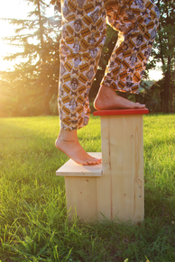 Marche-pieds en bois