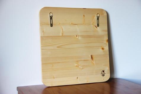 Le logo en bois de Vertical Paysage
