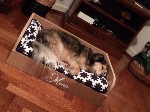 Le lit de Mona