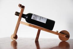 Porte-bouteille en bois de hêtre