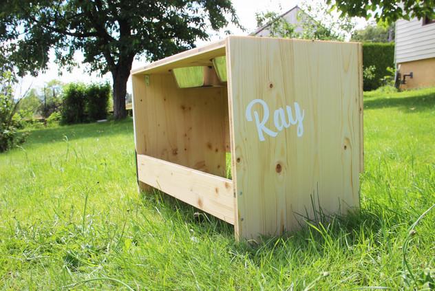 Le porte-gamelles de Ray