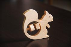 Hochet écureuil