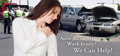 Auto accident, Work Injury, Car Accident
