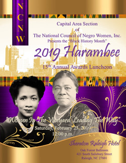 COVER Front - NCNW_CAS Harambee 2019