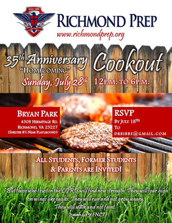 FLYER - RPCA_Anniversary Cookout 2019