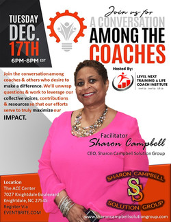 FLYER - Conversation Among The Coaches