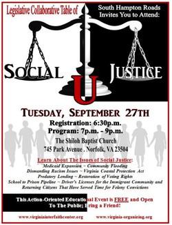 Social Justice - U Flyer